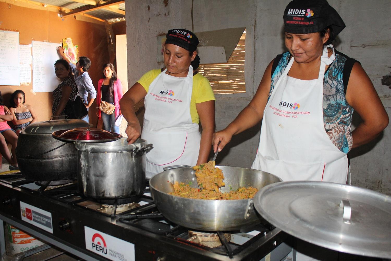58 comedores populares recibieron cocina industrial y - Utensilios de cocina industrial ...